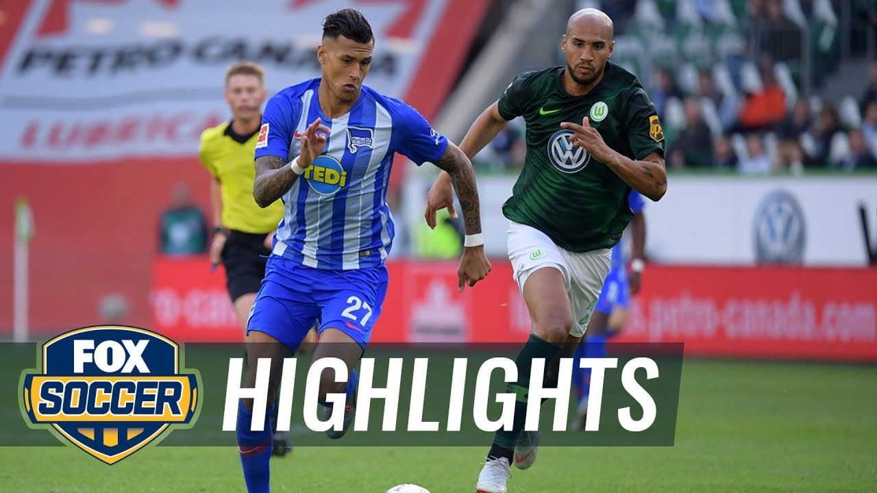 VfL Wolfsburg vs Hertha BSC Berlin | 2018-19 Bundesliga Highlights