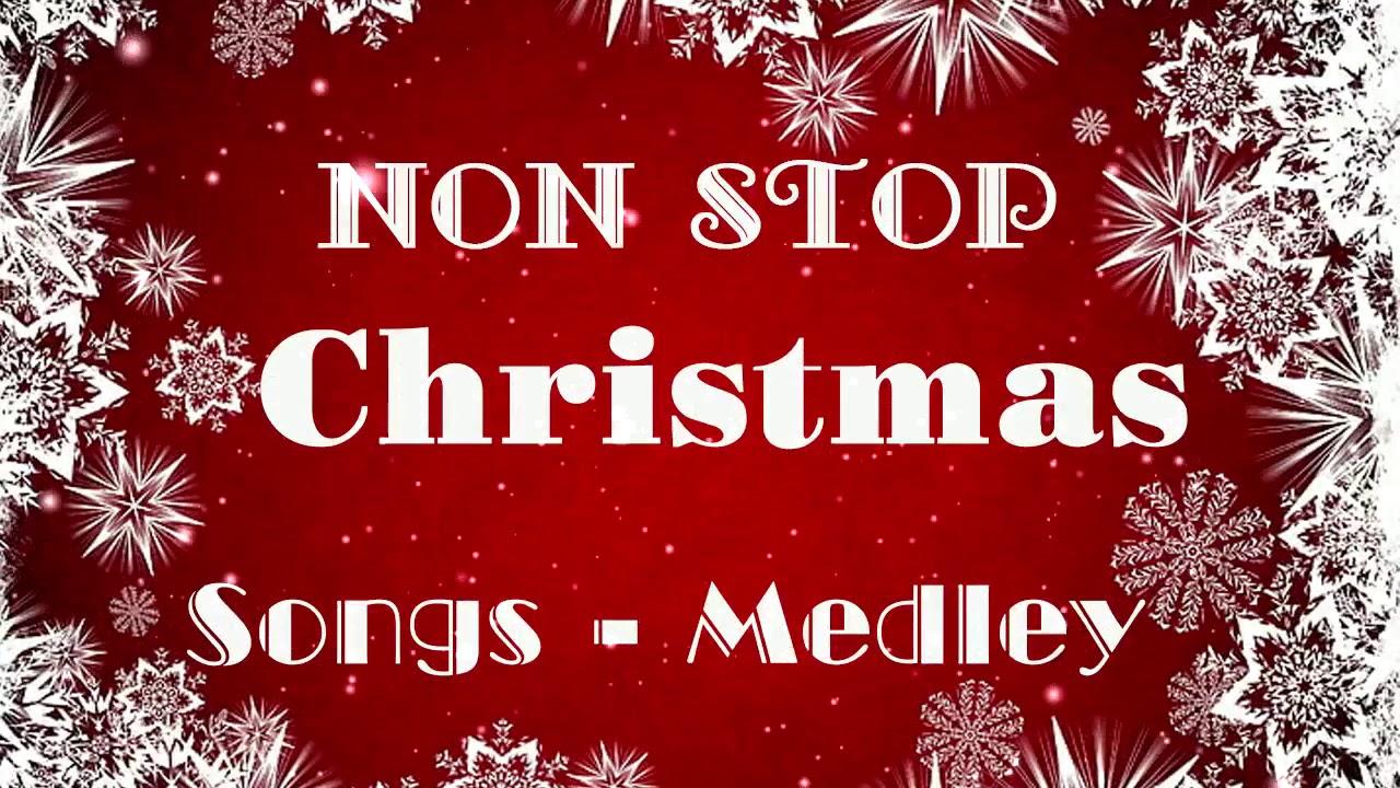 Non Stop Christmas Songs Medley⛄Top 100 English Christmas Songs Of All Time, Merry Christmas 2021