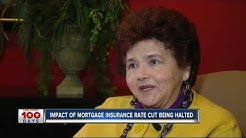 Impact of mortgage insurance rate cut being halted