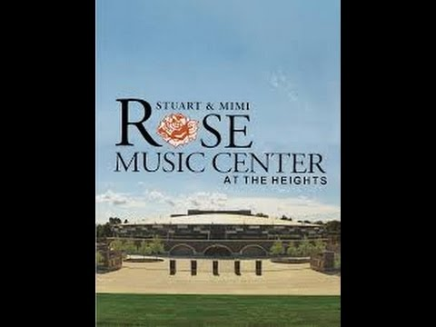 "Rose Music Center ""Introductions & Comments"" before the tour. Hosted by Chamber of Commerce"