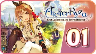Atelier Ryza: Ever Darkness & the Secret Hideout Walkthrough Part 1 (PS4) No Commentary