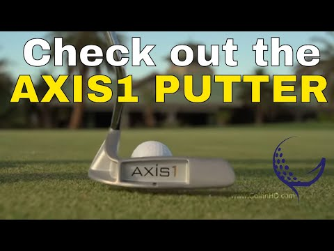 """Axis-1 Golf Putter """"The Putter that Never Turns on You"""""""