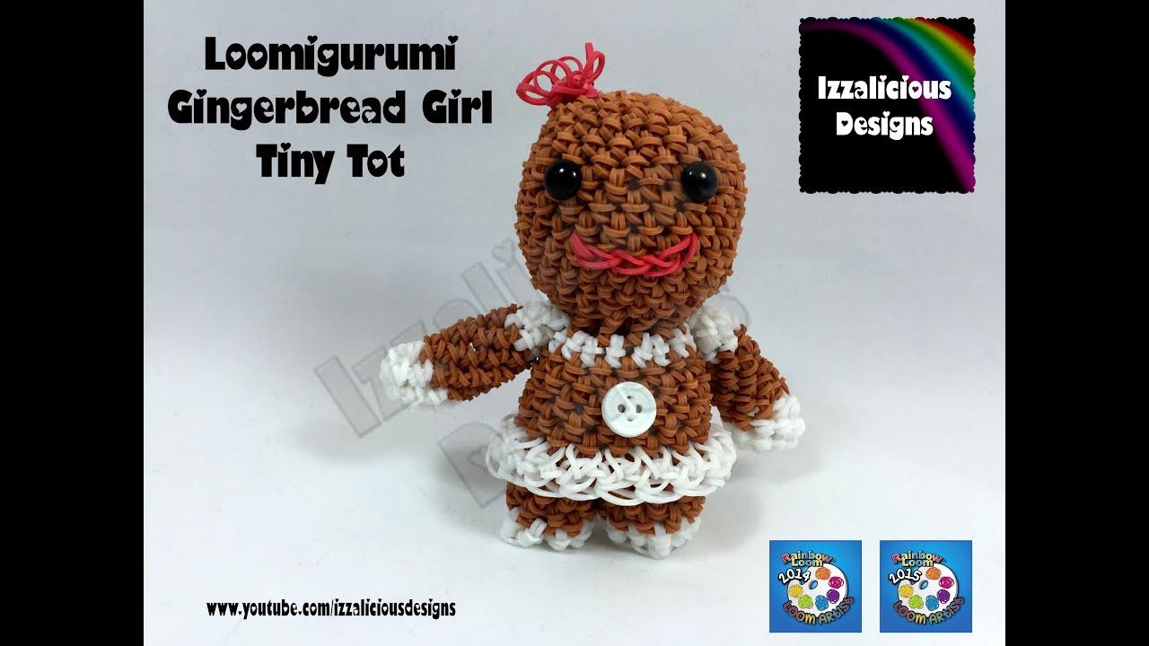 Amigurumi Nativity Español : Loomigurumi gingerbread girl tiny tot christmas figure amigurumi
