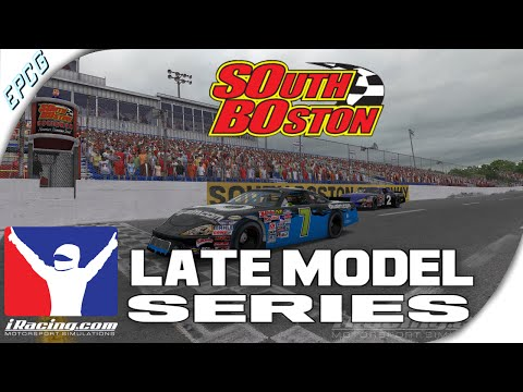 iRacing - Late Model race at South Boston
