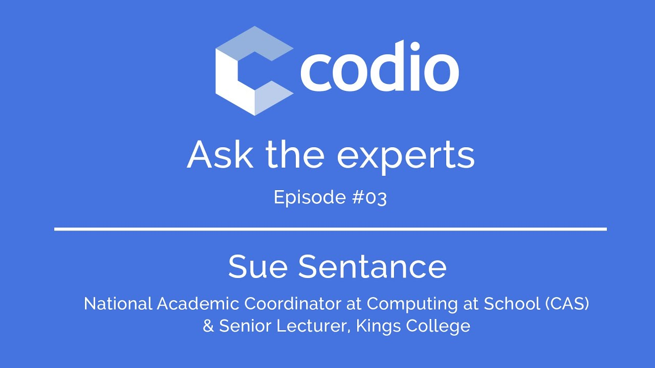 Codio talks to sue sentance about the bcs certificate in computer codio talks to sue sentance about the bcs certificate in computer science teaching xflitez Gallery