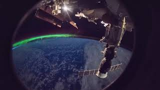ISS Timelapse - Red Lights Inside Cupola (22 Settembre 2018)