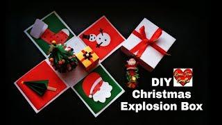 DIY Christmas Explosion Box   Christmas Gift Idea