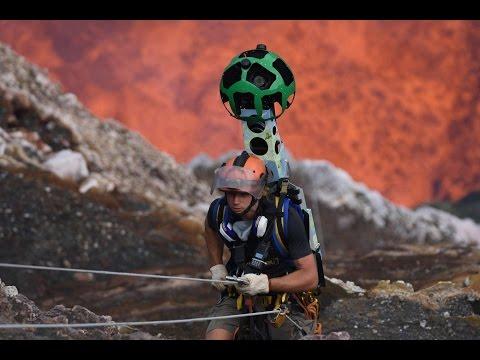 Dentro il vulcano attivo Vanuatu con Street View: la missione estrema di Google