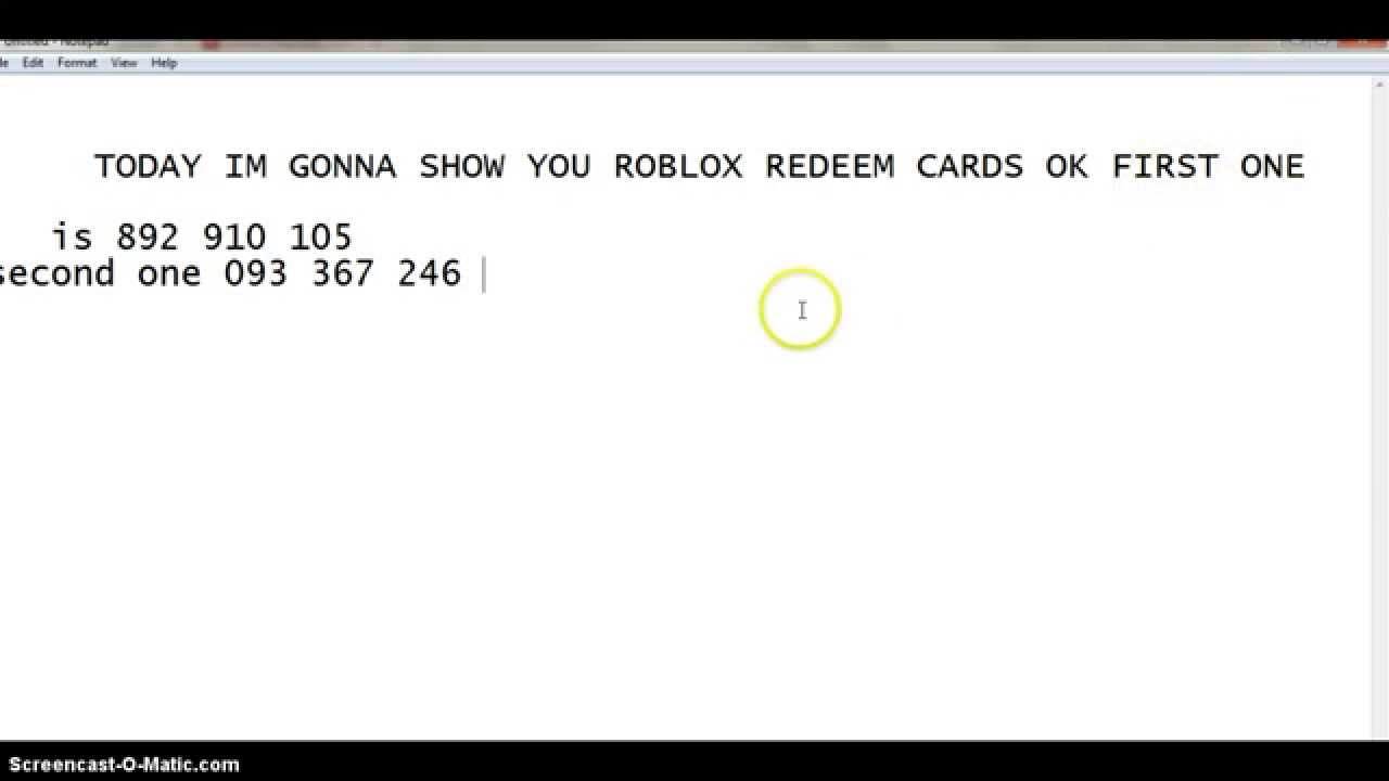 roblox gift card redeem roblox redeem card giveaway 2015 youtube 317