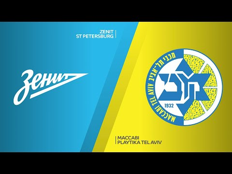 Zenit St Petersburg - Maccabi Playtika Tel Aviv Highlights | Turkish Airlines EuroLeague RS Round 34