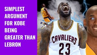 WHY KOBE BRYANT IS GREATER THAN LEBRON JAMES | TheBlackRanger X