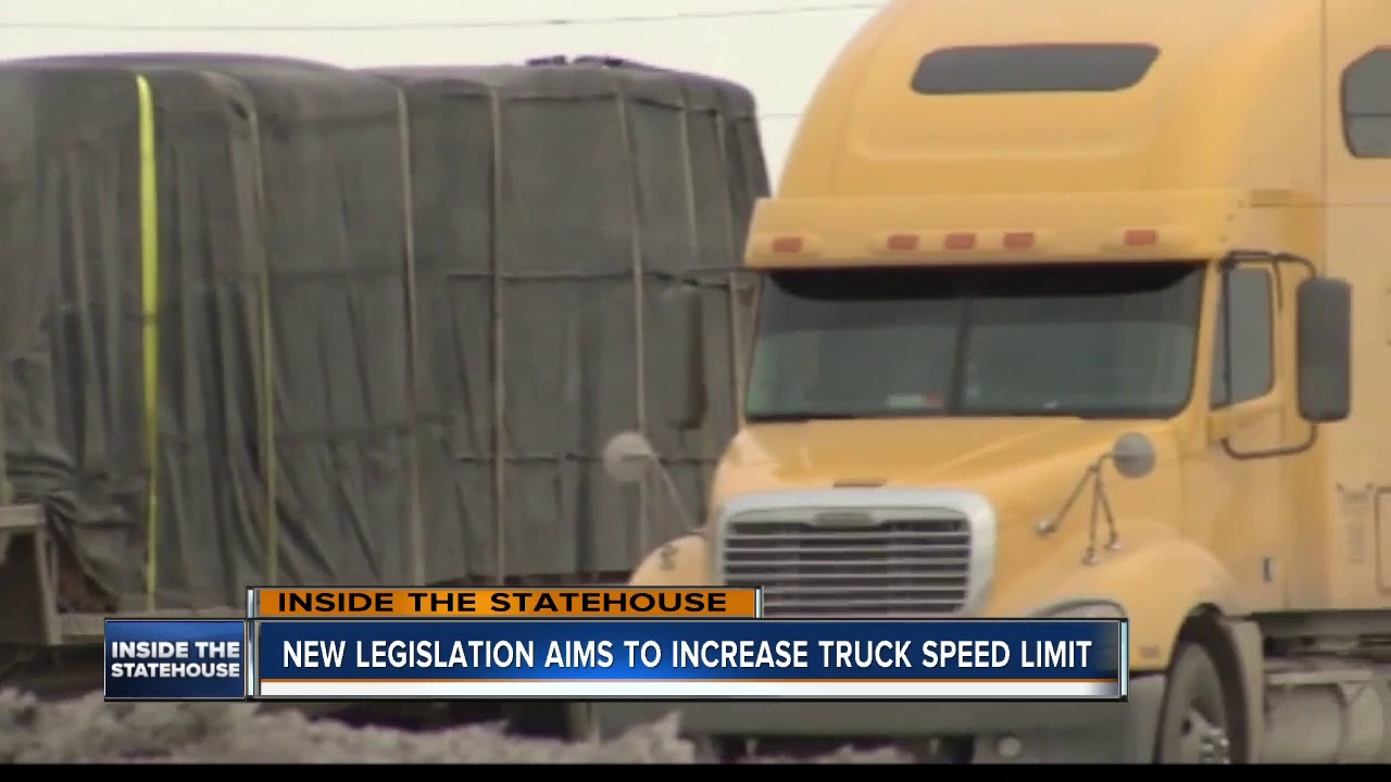 New legislation aims to increase truck speed limit
