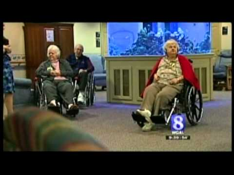 Seniors Fall In Love With iPods At Retirement Home