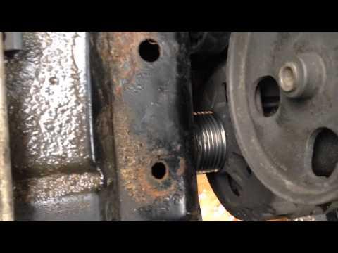 Как снять генератор Peugeot 406