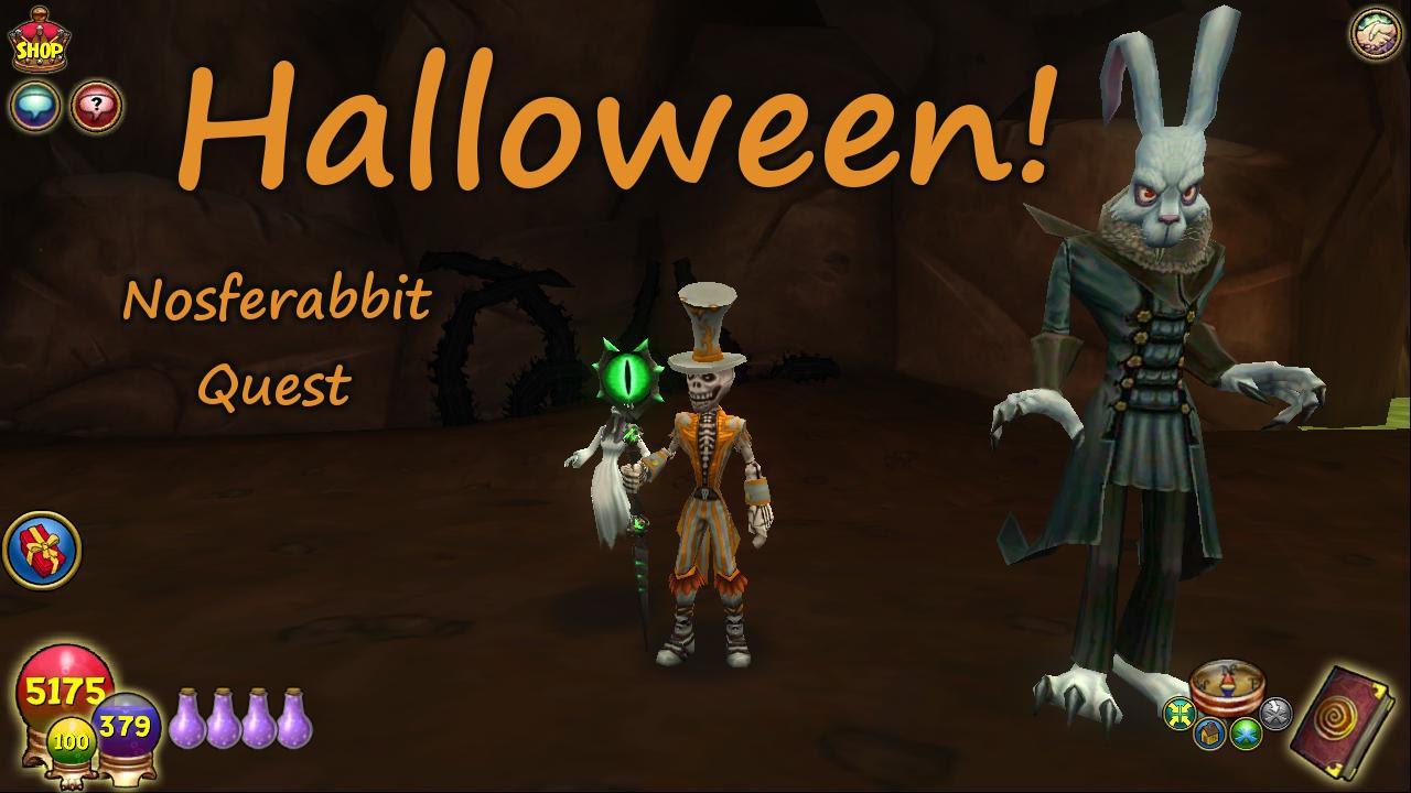 Wizard101: Halloween - Nosferabbit Side Quest