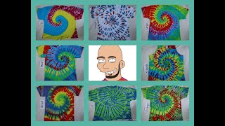 The Mystical Magical Tie Dye Spiral ~ Part 2
