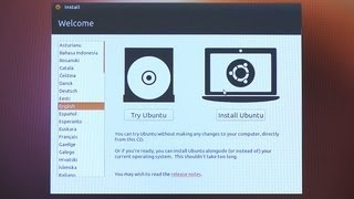 Ubuntu Linux Install