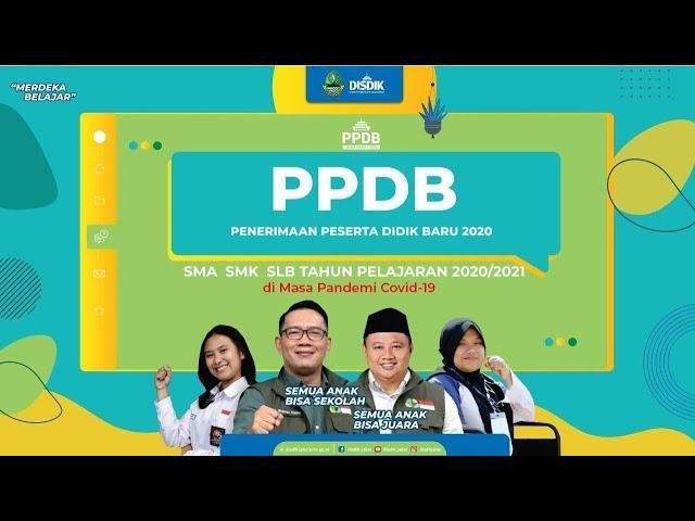 SAWALA ONLINE: Kupas Tuntas Penerimaan Peserta Didik Baru (PPDB) di Jawa Barat