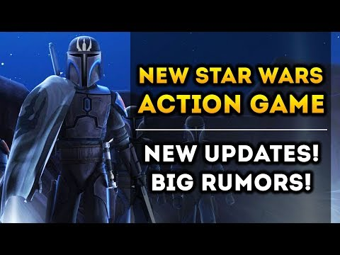 "Respawn's New Star Wars Action Game - New Updates! Leaked ""Mandalorian"" Game Ahead of EA Play!"