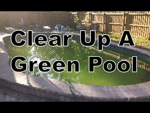 How to clear up green cloudy swimming pool water short - What makes my swimming pool water cloudy ...