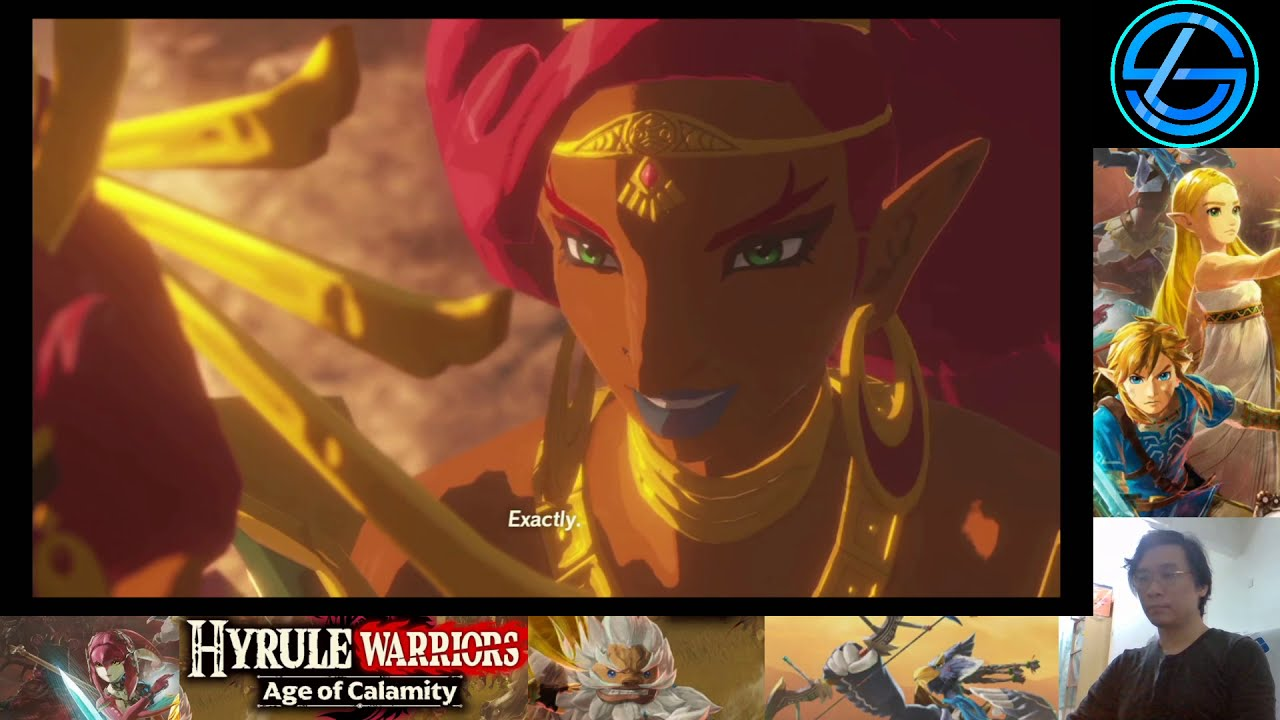 Hyrule Warriors Age Of Calamity Nintendo Switch Part 16 Each Steps Like Thunder Youtube