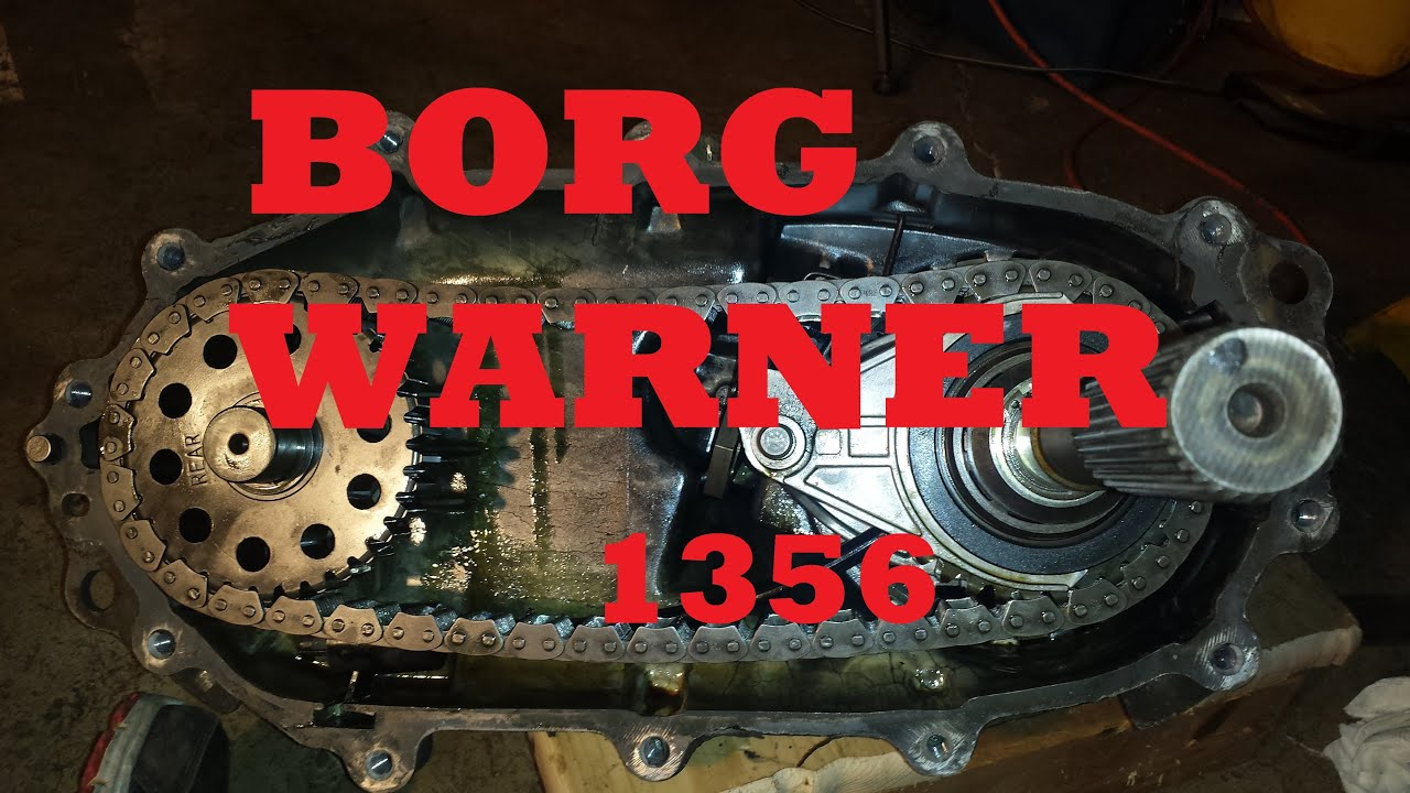 maxresdefault borg warner 1356 transfer case inspection youtube
