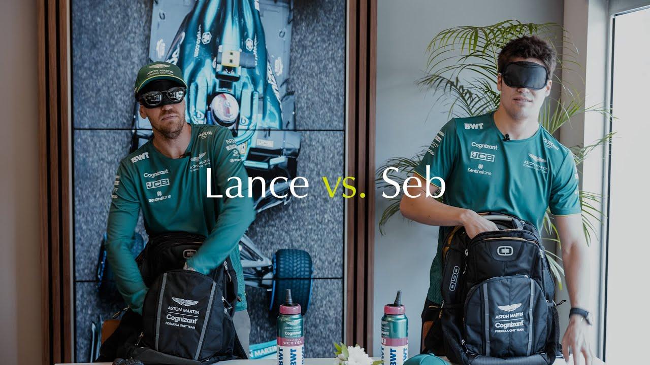 Lance vs. Seb | Blindfold Treasure Hunt Challenge
