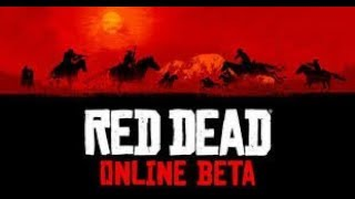 Red Dead Redemption 2 Online Beta Beginning My Story | Live Stream #2