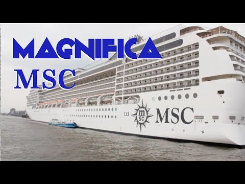 MSC Magnifica Tour (inside and out)