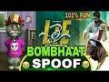 bombhaat song spoof by talking tom lie spoof bombhaat video song spoof nanda kumartv