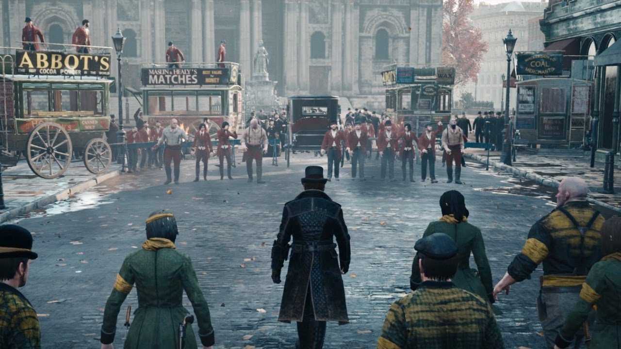 Assassin S Creed Syndicate The Slums Of Victorian London Youtube