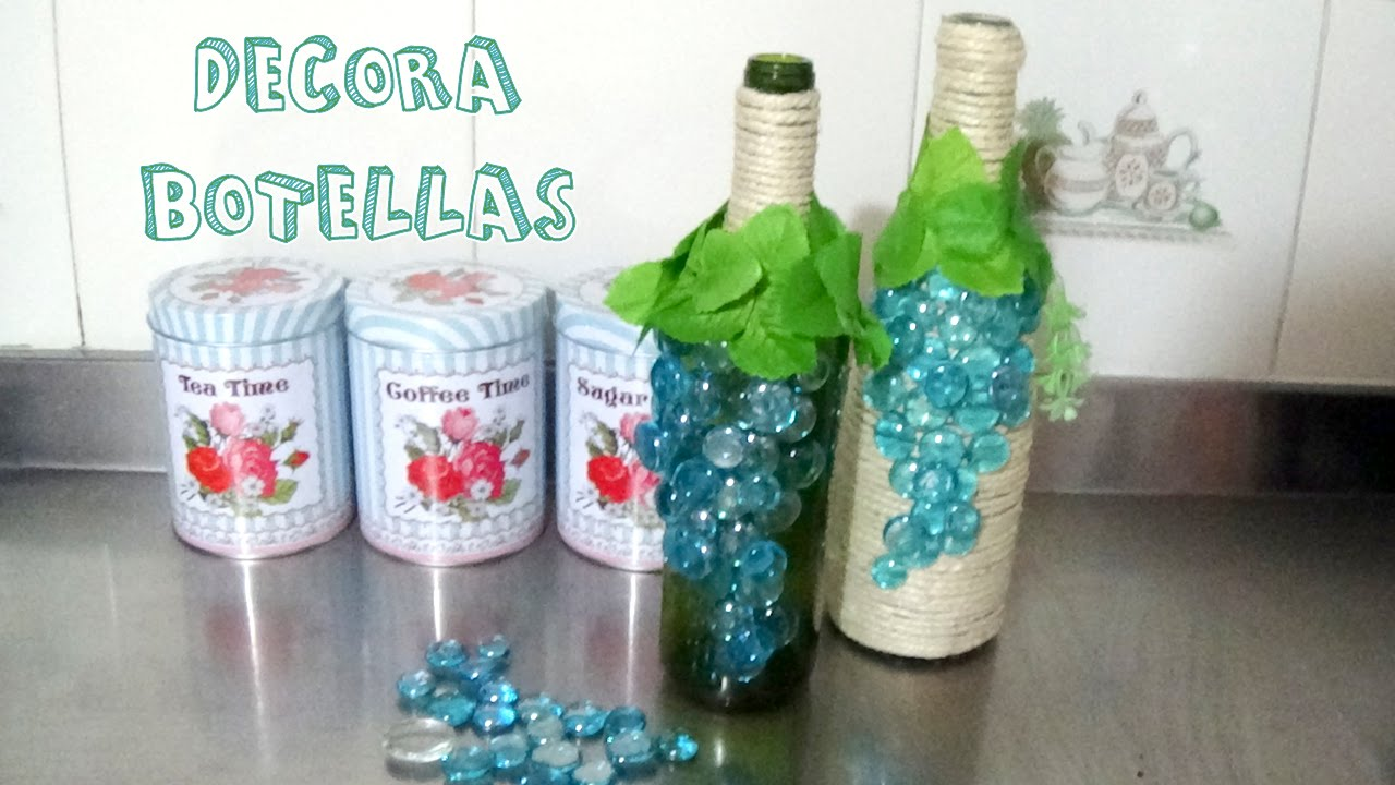 botellas decoracion