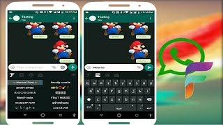 New Fancy Keyboard for Whatsapp Chat with Stylist Fonts in Android