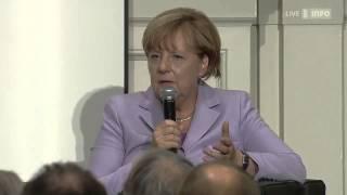 Angela Merkel über die Angst vor einer Islamisierung - in Bern vom 03.09.2015