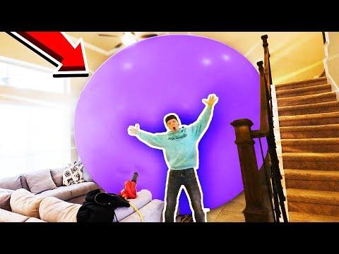WORLD'S BIGGEST BALLOON CHALLENGE! (40+ FT)
