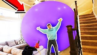 WORLD'S BIGGEST BALLOON CHALLENGE! (40+ FT)