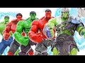 HULK SMASH~ HULK Raknarok Defeat Red HULK To Save Green HULK #Toymarvel