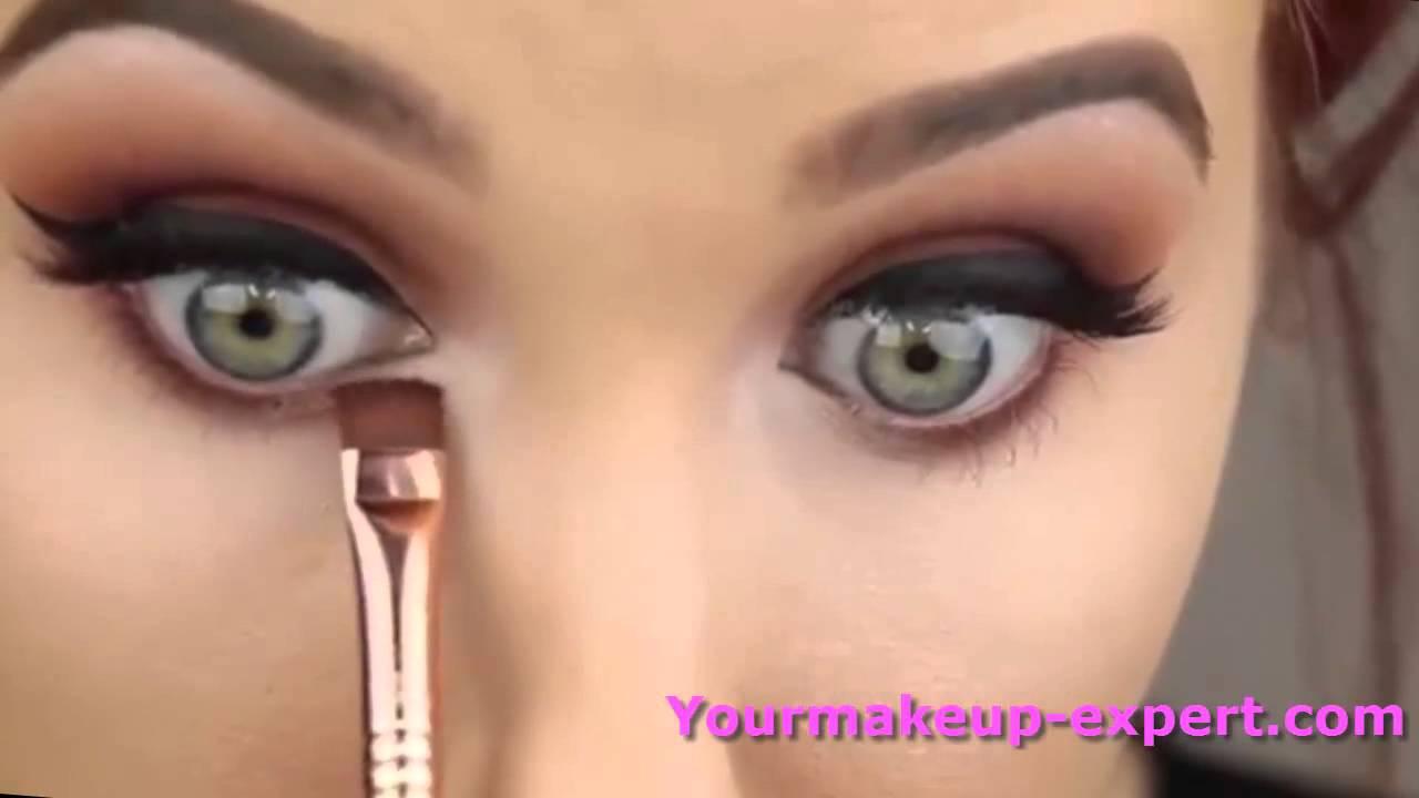 d3211c17ecaf6  احلى مكياج العيون العصرية - مع خبيرة مكياج - YouTube