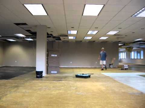 Time Lapse video of URL Insurance Groups new office remodeling