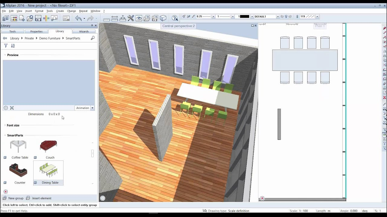 Easy Architectural Drawing & Rendering in 2D & 3D