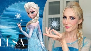 Makyaj : Frozen Elsa Saç ve Makyajı | Frozen Elsa Makeup & Hair | Sebi Bebi
