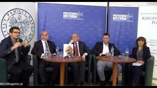 """""""Niepodległość ma jeden kształt"""" - promocja książki z udziałem Antoniego Macierewicza"""