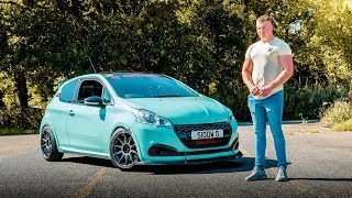 BEN'S 360BHP PEUGEOT 208 GTI vs 5 GERMAN RIVALS **MUST SEE**