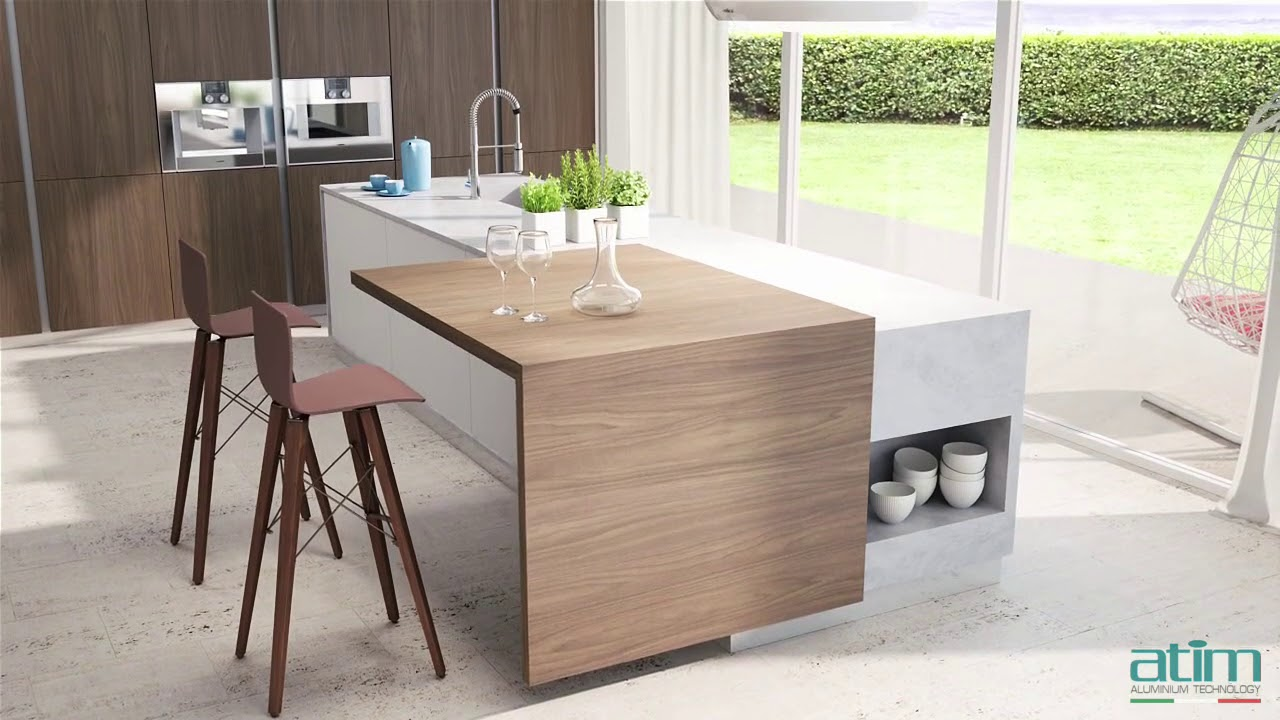 Atim Kitchen Island Extension