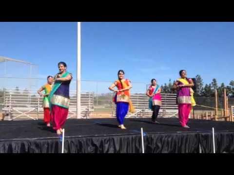 Punjabi dance at Vaisakhi Mela