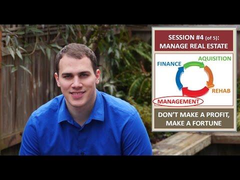 DON'T MAKE A PROFIT, MAKE A FORTUNE #4: Value Enhancing Property Management