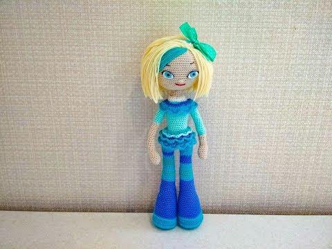 Кукла снежка крючком бесплатный мастер класс