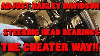 How To Adjust Steering Head Bearings The Cheater Way