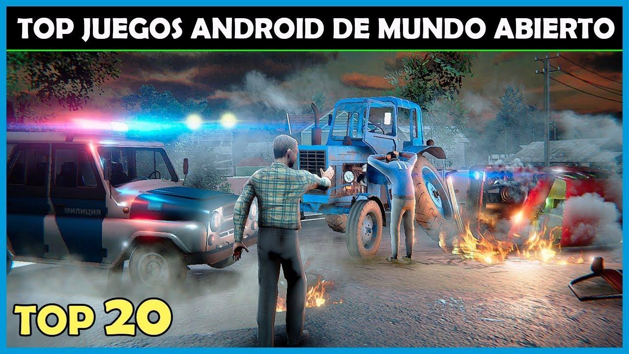 Top 20 Juegos De Mundo Abierto Para Android Con Mejores Graficos