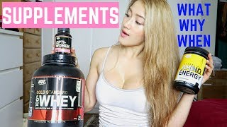 SUPPLEMENTS | WHAT to take, WHY to take, WHEN to take?